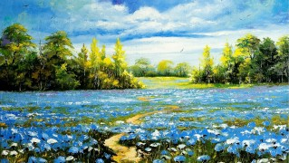 Landscape-Nature-Painting