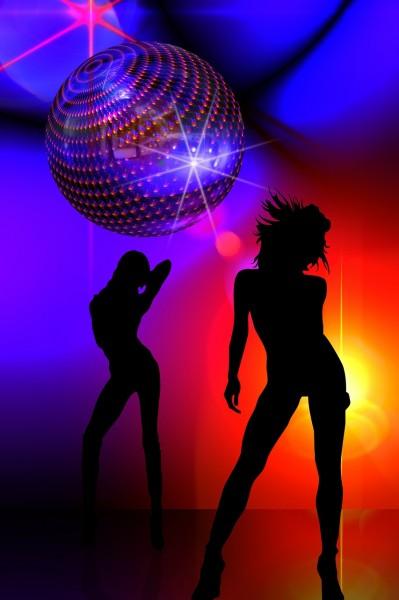シルエット 女の子 運動 ジャンプ ダンス 光 敏捷性 生命の欲望 人生の喜び パーティー