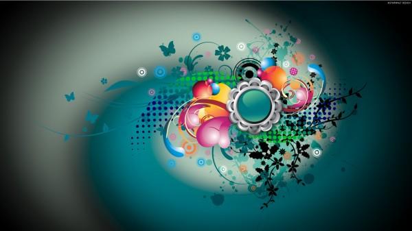 Abstract-Colorful-Circles