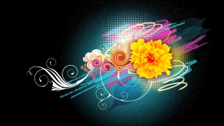 Abstract-Flowers-Background