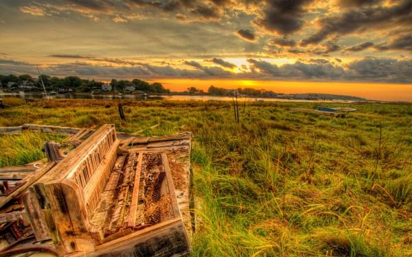 Barn-Sunset