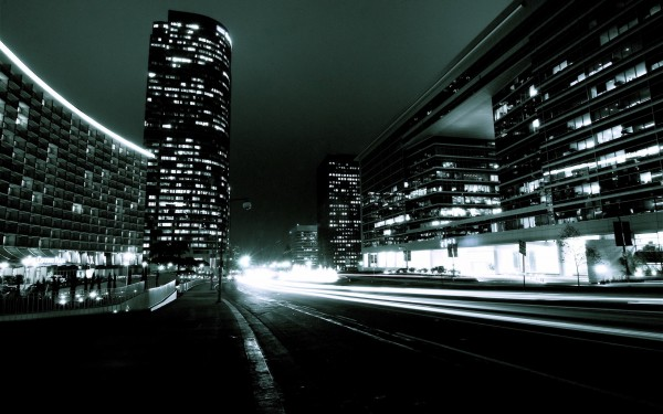 City-with-Lights-at-Night