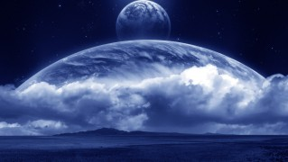 Cloud-with-Earth-and-Moon