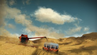 Combine-Harvester-Agriculture