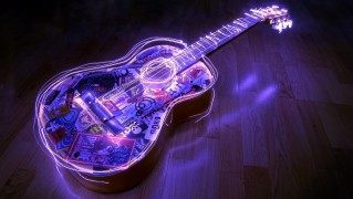 Digital-Lights-of-Music-Guitar
