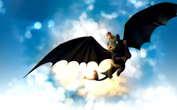 Dragon-with-Boy-Flying-in-the-Sky