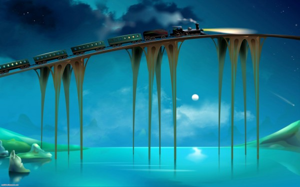 Fantasy-Train-Bridge