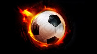 Football-with-Fire