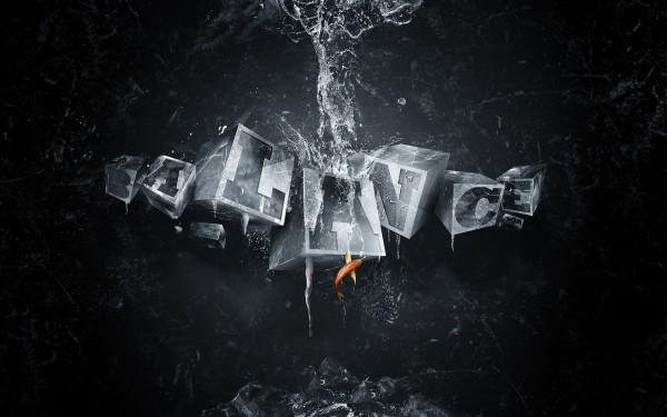 Frozen-Water-Cubes-Balance