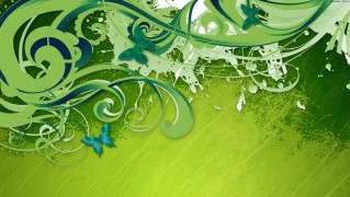 Green-Abstract-Vector-Background