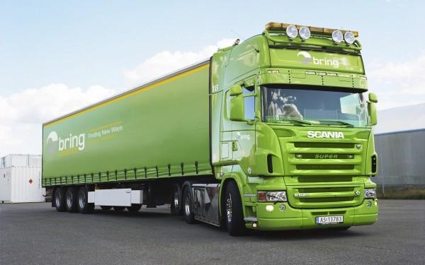Green-Big-Truck