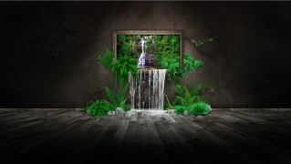 Jungle-Water-Fountains-in-the-Living-Room