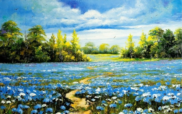 Landscape-Nature-Painting