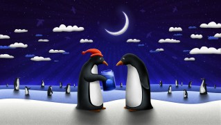 Merry-Christmas-Penguins