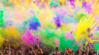 People-Party-with-Colorful-Sprays