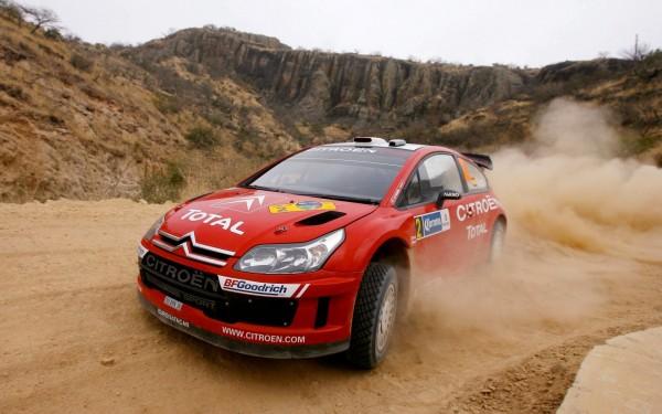 Red-Citroen-Car-Racing