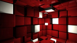 Room-with-Red-Cubes