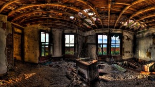 Ruined-House-Interior