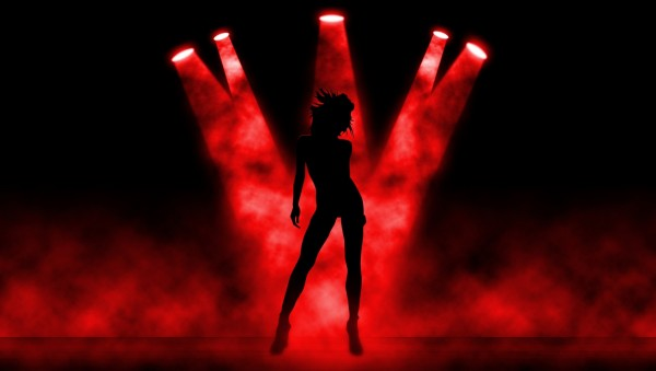 Silhouette-of-Dancing-Girl