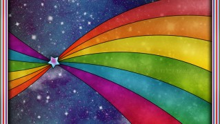 Star-with-Rainbow-Lines