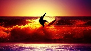 Surfer-at-Sunset
