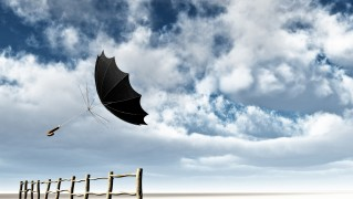 Umbrella-Flying-with-the-Wind