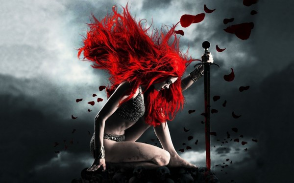 Warrior-Red-Hair-Woman