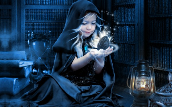 Young-Girl-with-Magic-Box