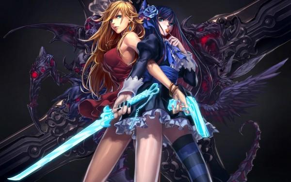 anime_panti_ando_with_gun_and_sword-wide