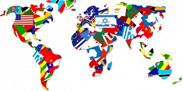 world-flag-map