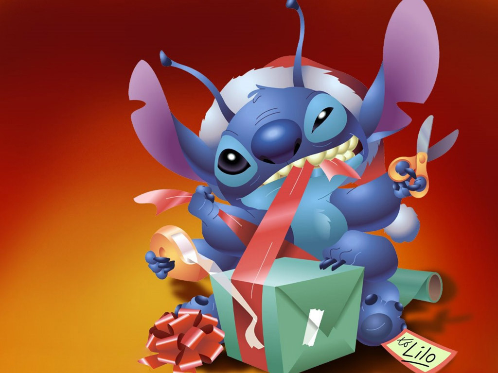 from_stitch_to_lilo_christmas_present_freecomputerdesktopwallpaper_1024